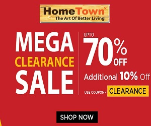 Shop your home upgrade online at HomeTown.in