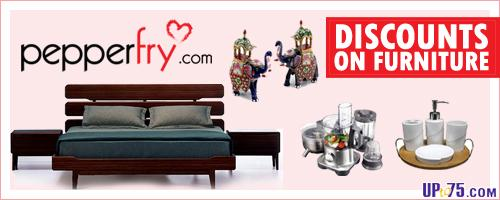 Shopping for furniture online is easy at Pepperfry.com