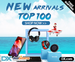 new arrivals top 100 Gadget at DX.com