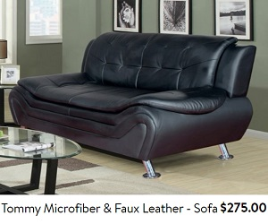Cheap leather sofas under 300