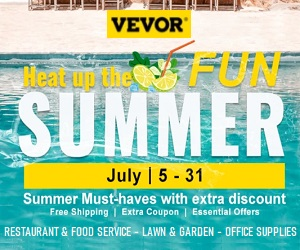 VEVOR.com products are high quality with unbeatable prices.